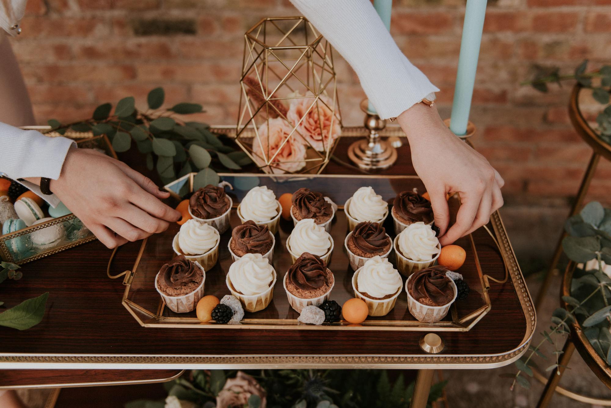 Cupcakes de la Llaminera